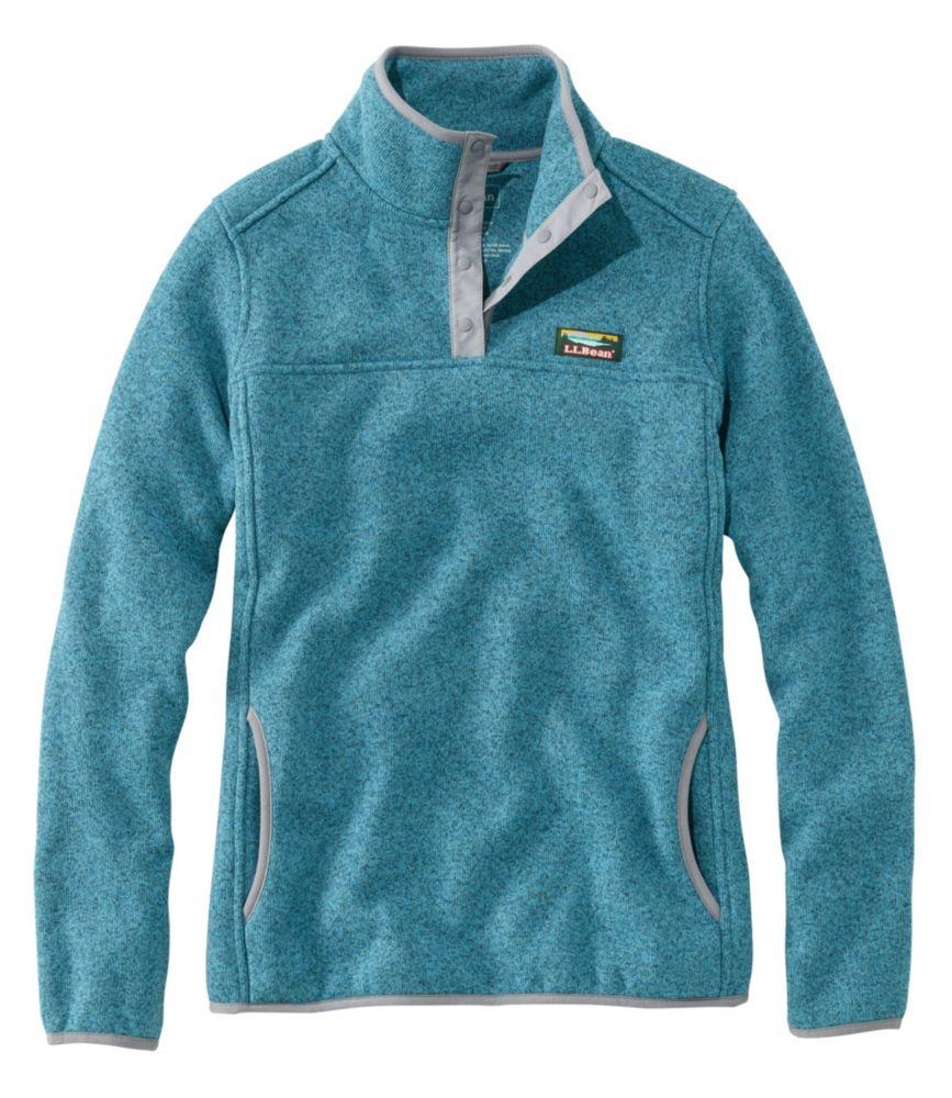 L.L.Bean Sweater Fleece Pullover