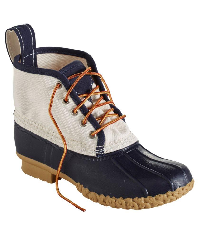 """L.L.Bean Bean Boots, 6"""" Canvas"""