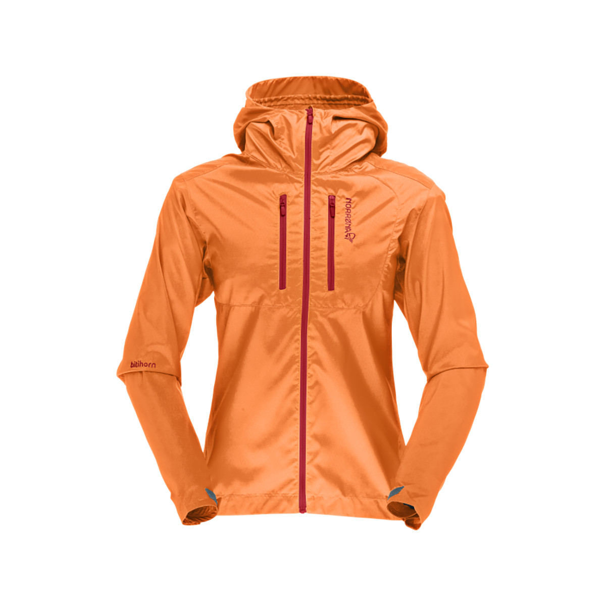 photo: Norrona Women's Bitihorn Aero 60 Jacket wind shirt