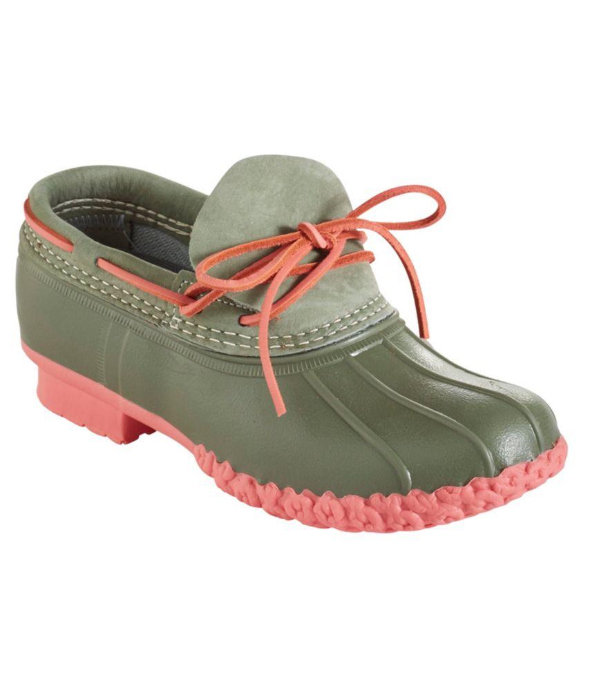 photo: L.L.Bean Women's Bean Boots, Rubber Moc winter boot