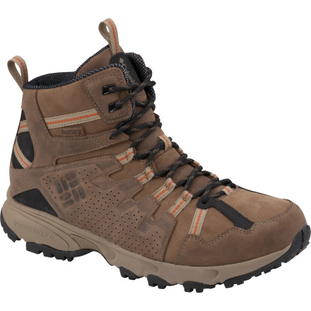 photo: Columbia Talus Ridge Mid OutDry Leather hiking boot