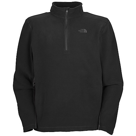 photo: The North Face TKA 100 Texture Lone Pine 1/4 Zip Top fleece top