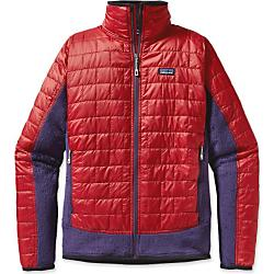 photo: Patagonia Nano Puff Hybrid Jacket synthetic insulated jacket