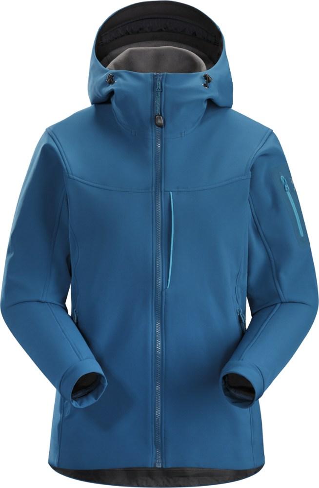 photo: Arc'teryx Women's Gamma MX Hoody soft shell jacket