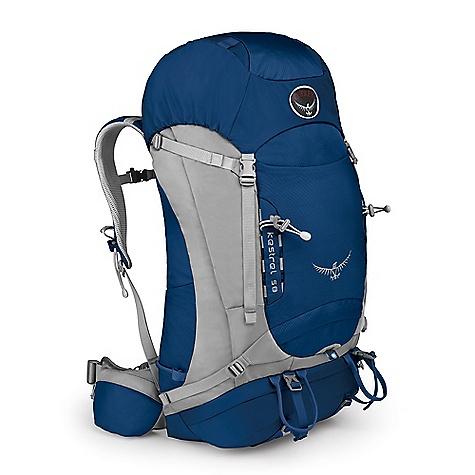 photo: Osprey Kestrel 58 weekend pack (3,000 - 4,499 cu in)