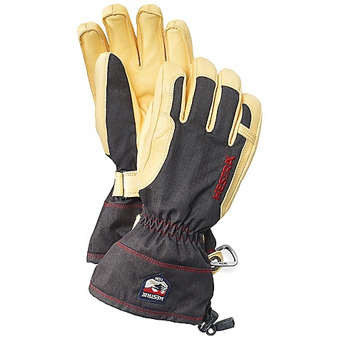 photo: Hestra Heli Ski De Cuir insulated glove/mitten