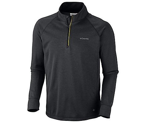 photo: Columbia Fluid Run Half -Zip - Long-Sleeve long sleeve performance top