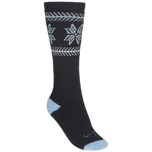 Lorpen Midweight Ski Socks Merino Wool/Acrylic Over-the-Calf