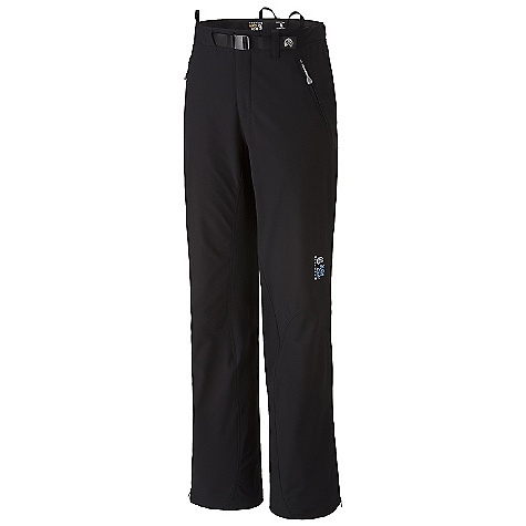 photo: Mountain Hardwear Castlewood Soft Shell Pant soft shell pant