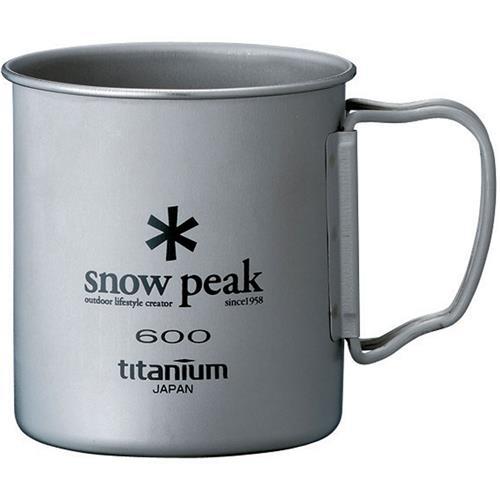 photo: Snow Peak Titanium Single Wall 600 Cup cup/mug