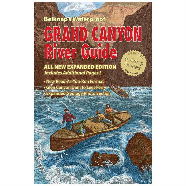 Westwater Books Belknap's Waterproof Grand Canyon River Guide