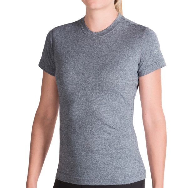 photo: Brooks EZ T short sleeve performance top
