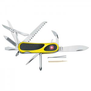Wenger EvoGrip 18 Yellow Swiss Army Knife