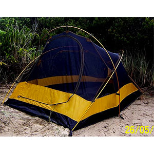 photo: Glacier's Edge Galaxy three-season tent