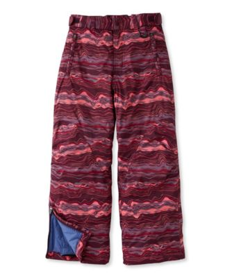 photo: L.L.Bean Girls' Glacier Summit Waterproof Pants synthetic insulated pant
