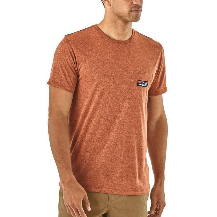 photo: Patagonia Hybrid Pocket Responsibili-Tee short sleeve performance top