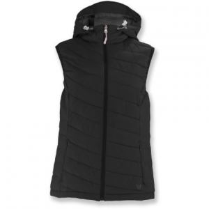 White Sierra Willow Creek Hooded Vest