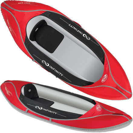 photo: Infinity Kayaks Orbit 245 inflatable kayak