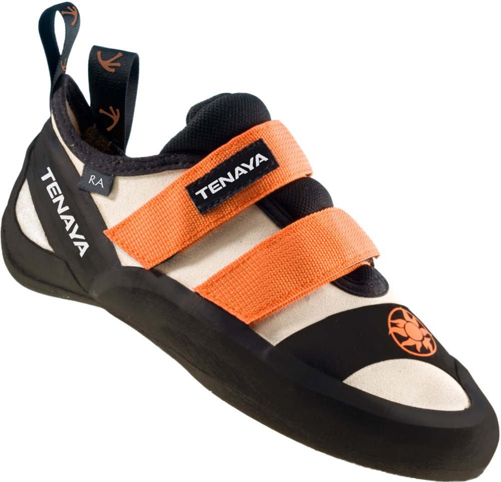 photo of a Tenaya climbing shoe