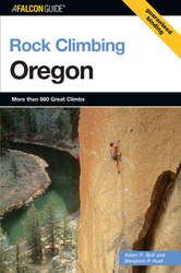 photo: Falcon Guides Rock Climbing Oregon us pacific states guidebook