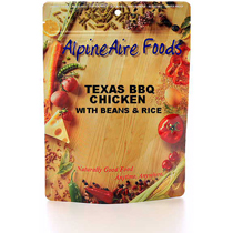 photo: AlpineAire Foods Texas BBQ Chicken meat entrée