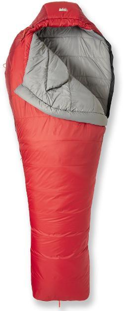 photo: REI Lumen +25 3-season synthetic sleeping bag