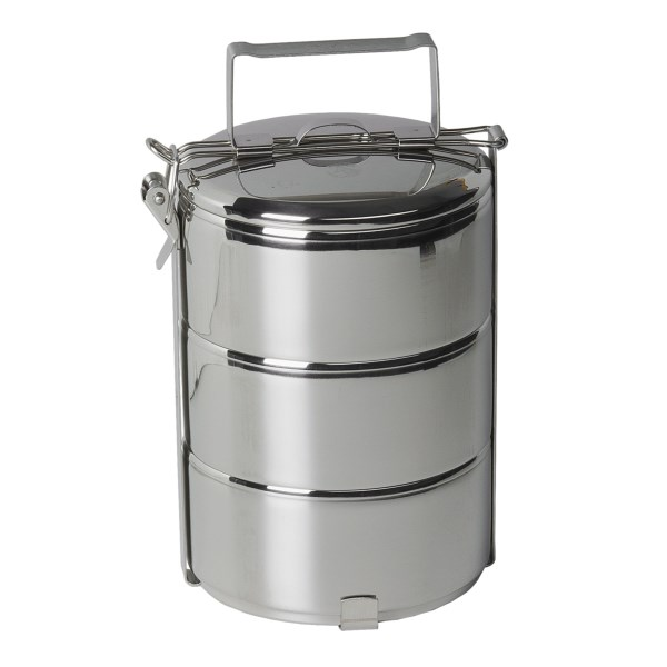 photo: Grand Trunk Zebra Stainless Steel Food Carrier storage container