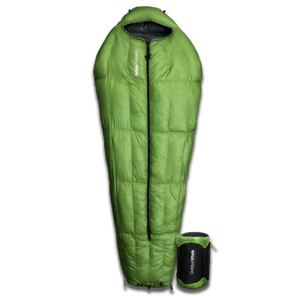 photo: Outdoor Vitals LoftTek Hybrid MummyPod 3-season hybrid sleeping bag