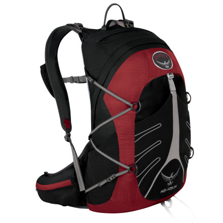 photo: Osprey Hornet 24 daypack (under 2,000 cu in)