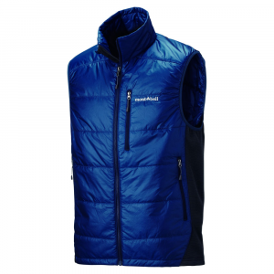 photo: MontBell Thermawrap Sport Vest synthetic insulated vest