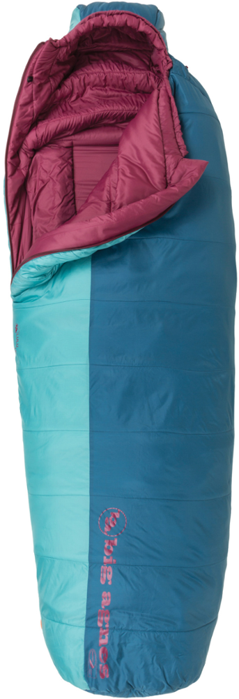 photo: Big Agnes Lulu 15° 3-season synthetic sleeping bag