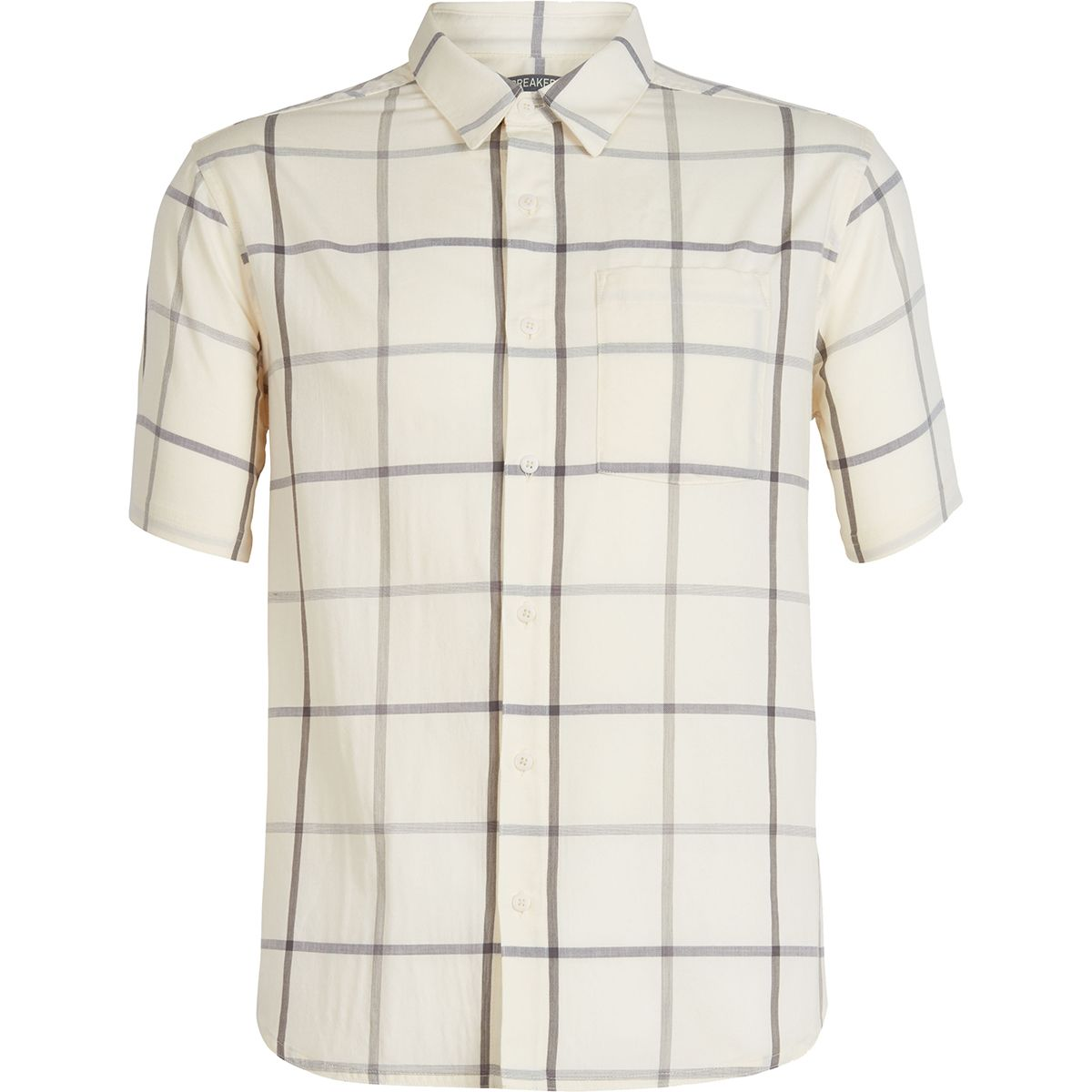 photo: Icebreaker Compass Short Sleeve Shirt Plaid hiking shirt
