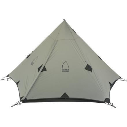 photo: Sierra Designs Origami 3 tarp/shelter