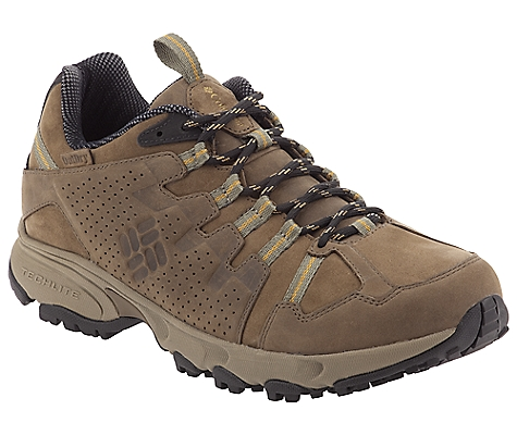 photo: Columbia Talus Ridge Outdry Leather trail shoe
