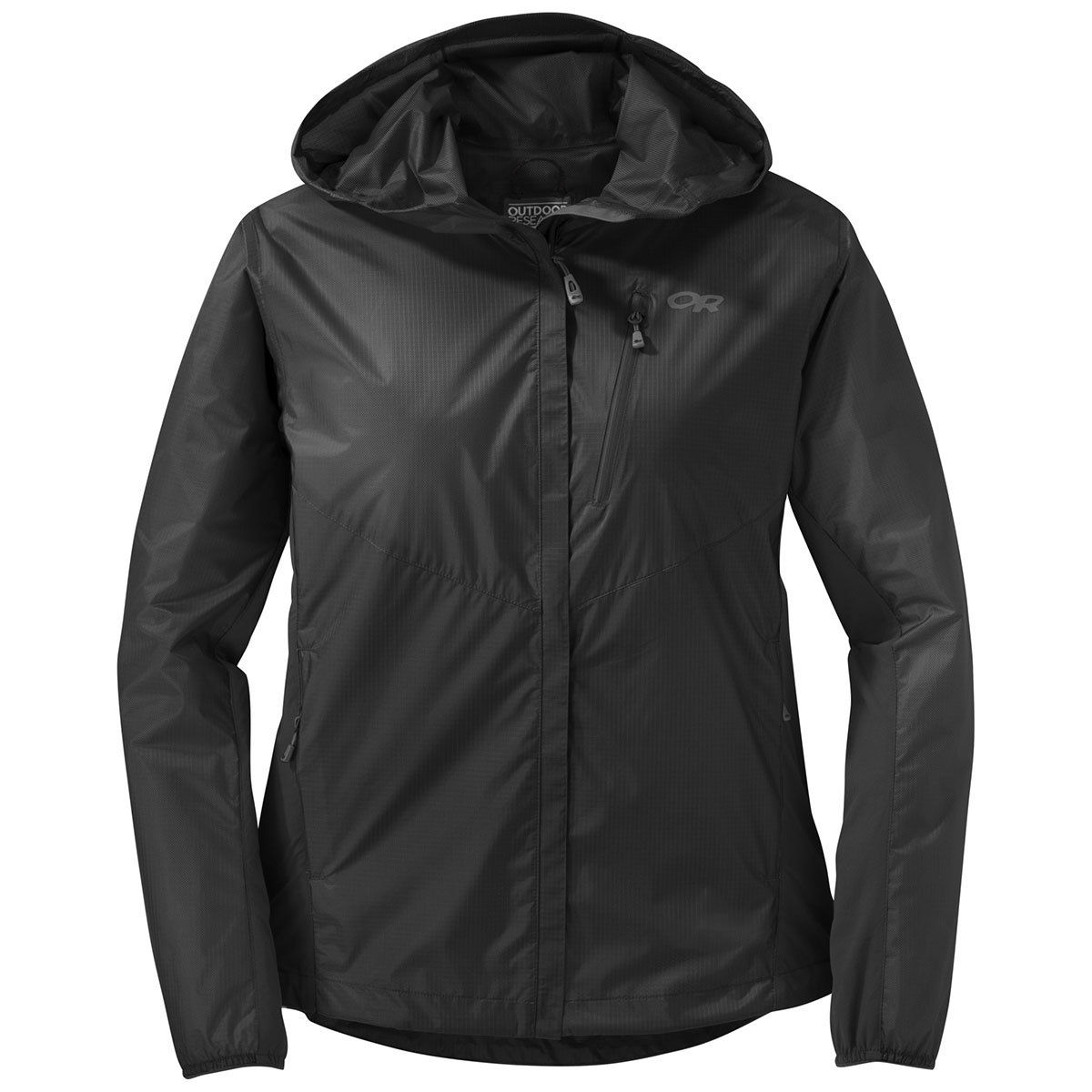 photo: Outdoor Research Women's Helium Hybrid Hooded Jacket waterproof jacket