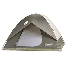 photo: Coleman SunDome 6 Tent three-season tent