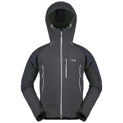 photo: Rab Scimitar Jacket soft shell jacket