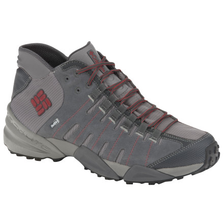 photo: Columbia Women's Master of Faster Mid Outdry LTR hiking boot