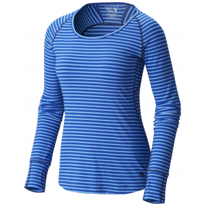Mountain Hardwear Butterlicious Stripe Long Sleeve Crew