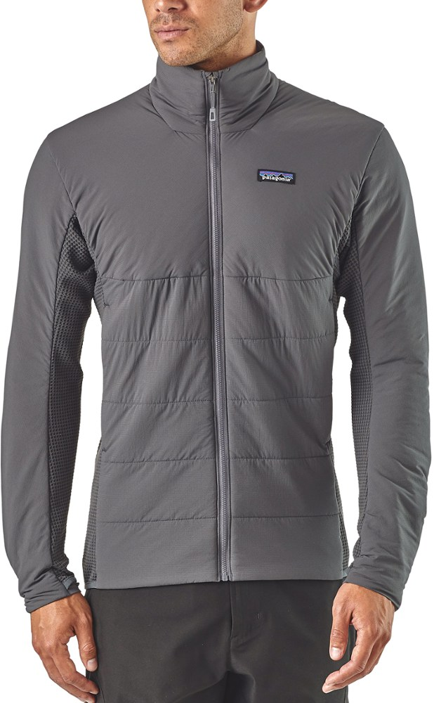 photo: Patagonia Men's Nano-Air Light Hybrid Jacket synthetic insulated jacket