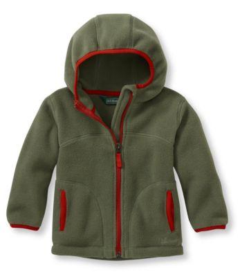 photo: L.L.Bean Men's Trail Model Fleece Hooded Jacket fleece jacket