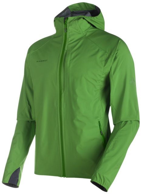 photo: Mammut Ultimate Light SO Hooded Jacket soft shell vest