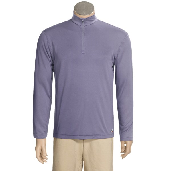 photo: Hot Chillys PeachSkins Zip base layer top