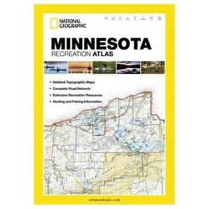 National Geographic Minnesota Recreation Atlas