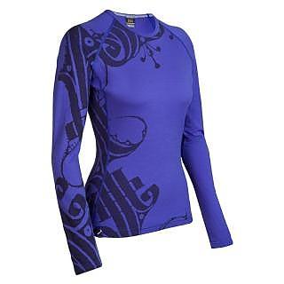 photo: Icebreaker Bodyfit 200 Oasis Crewe Scroll base layer top