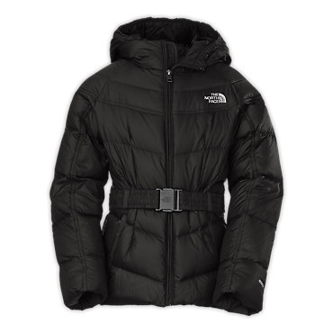 photo: The North Face Girls' Collar Back Down Jacket down insulated jacket