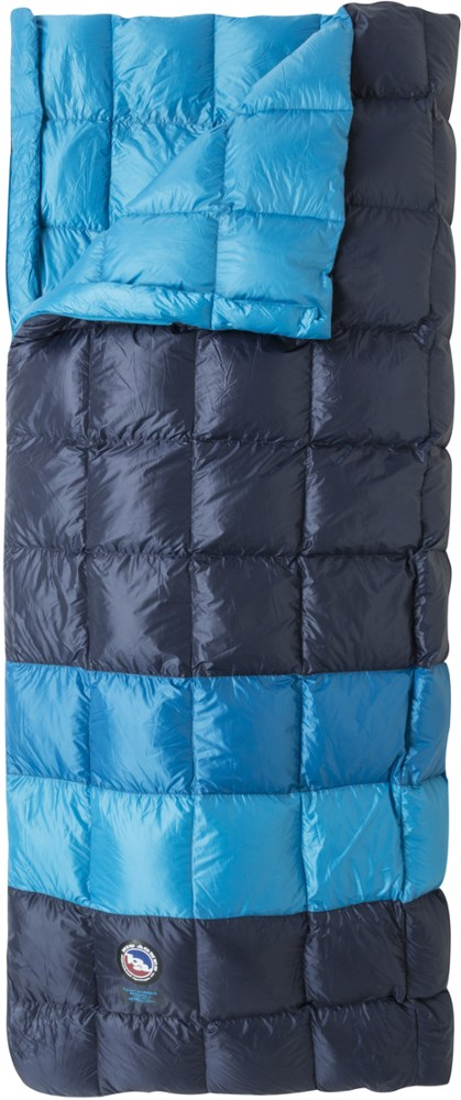 photo: Big Agnes Camp Robber Bedroll warm weather down sleeping bag
