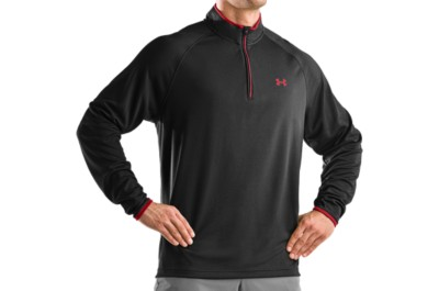 photo: Under Armour Ace 1/4 Zip long sleeve performance top