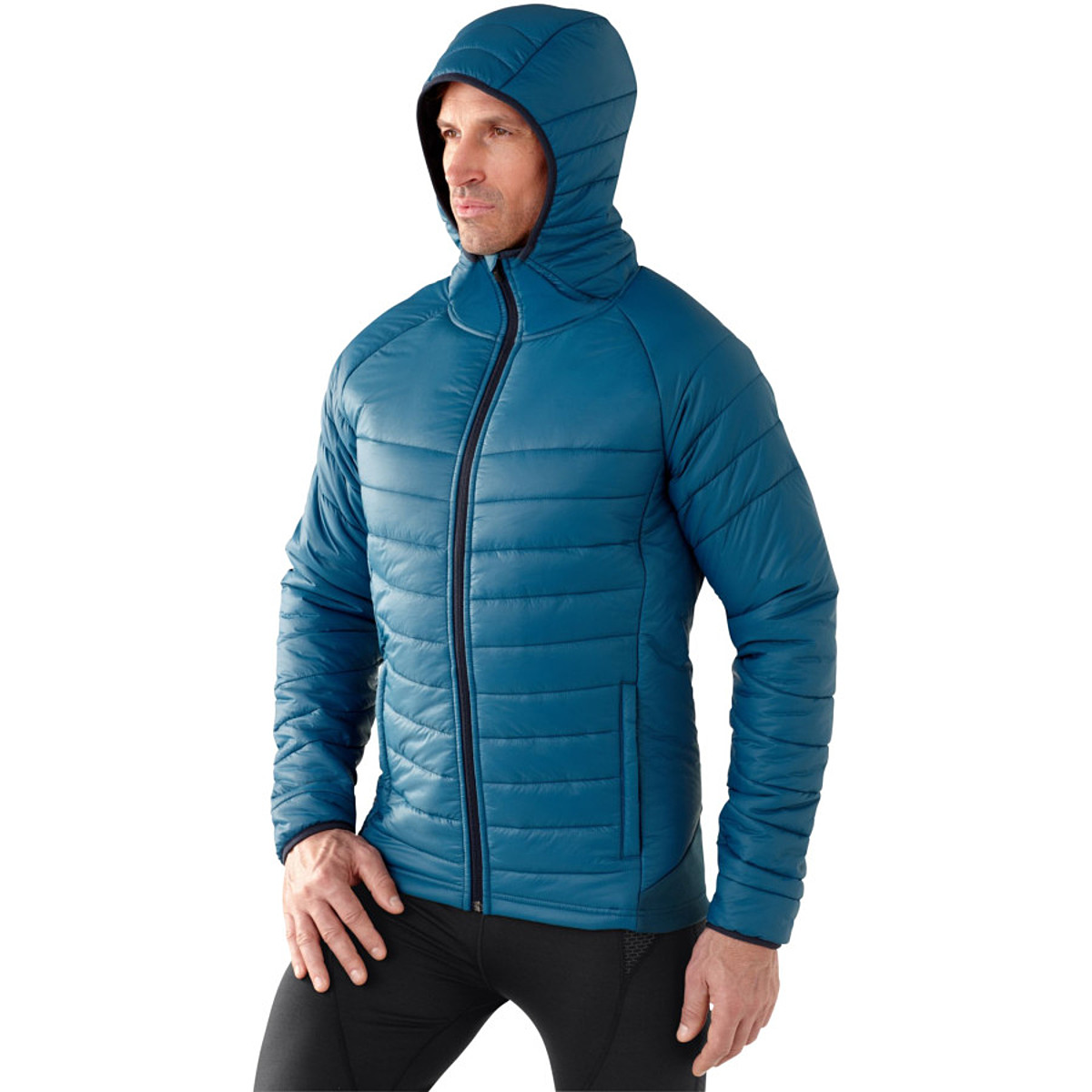 photo: Smartwool PhD SmartLoft Full Zip Hoody synthetic insulated jacket