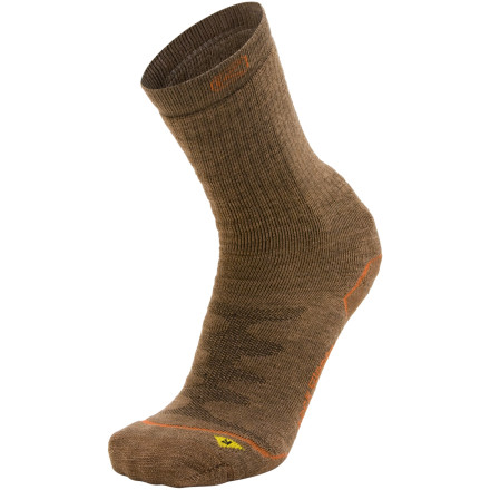 photo: Keen Men's Boulder Canyon Crew Mid Sock hiking/backpacking sock